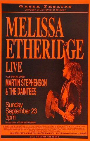 Melissa Etheridge Poster