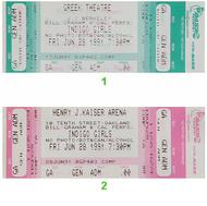 Indigo Girls 1990s Ticket