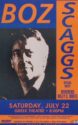 Boz Scaggs Poster