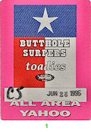 Butthole Surfers Backstage Pass