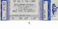 Lyle Lovett & His Large Band 1990s Ticket