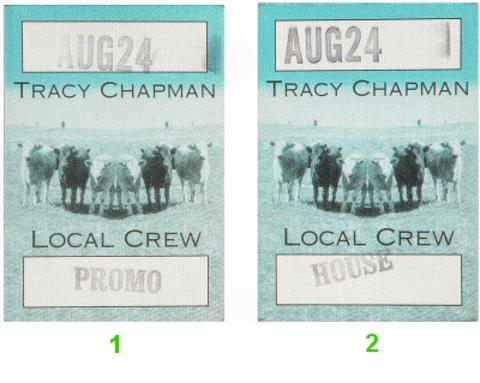 Tracy Chapman Backstage Pass