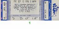 Gipsy Kings 1990s Ticket