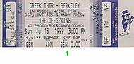 The Offspring 1990s Ticket