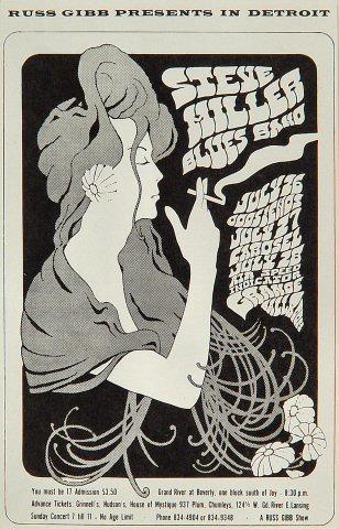 The Steve Miller Blues BandPostcard