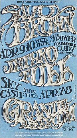 Savoy Brown Handbill