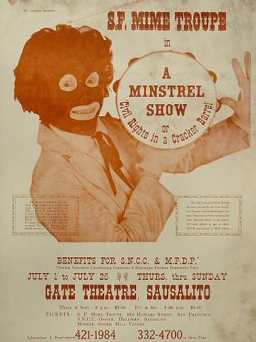 San Francisco Mime TroupePoster