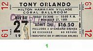 Tony Orlando1980s Ticket