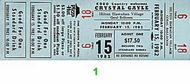 Crystal Gayle 1980s Ticket