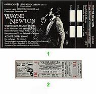 Wayne Newton1980s Ticket