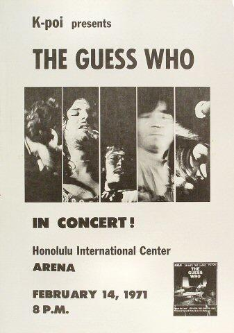 The Guess WhoPoster
