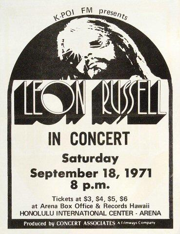 Leon RussellHandbill