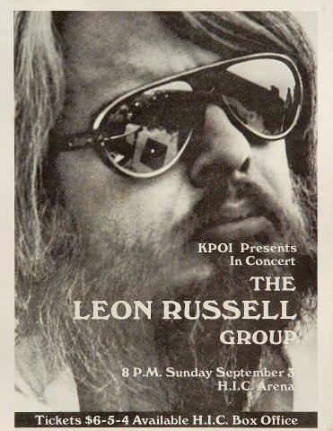 The Leon Russell Group Handbill