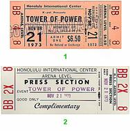 Tower of Power1970s Ticket