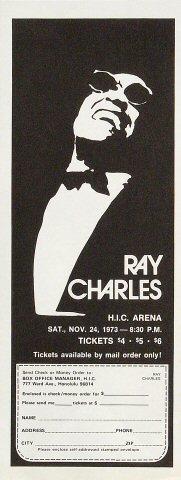 Ray CharlesHandbill