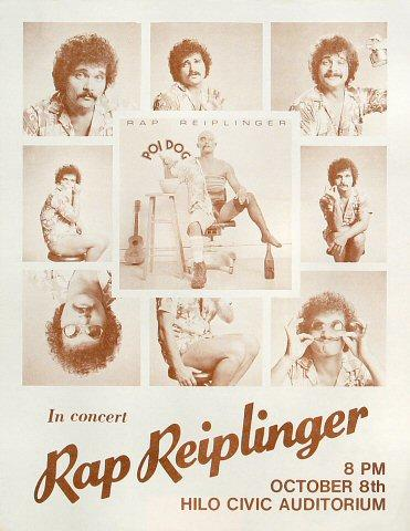 Rap Reiplinger Handbill