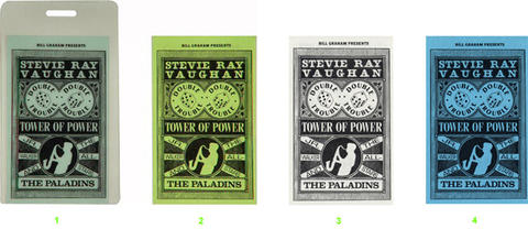 Stevie Ray Vaughan & Double Trouble Laminate