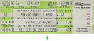Public Enemy 1980s Ticket