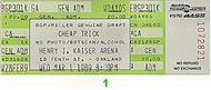 Cheap Trick 1980s Ticket