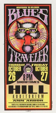 Blues Traveler Handbill