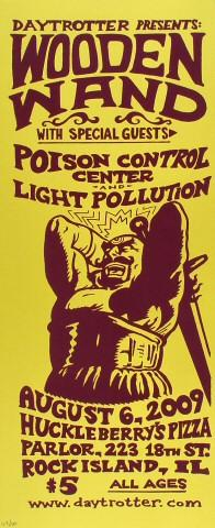 Poison Control Center merchandise