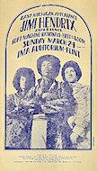 Jimi Hendrix Experience Handbill