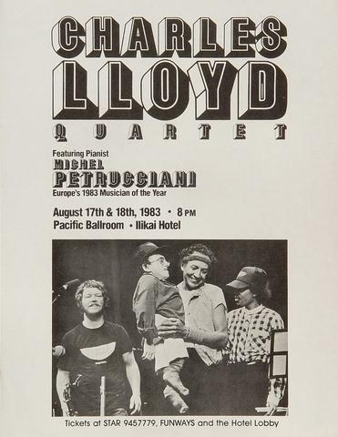 Charles Lloyd QuartetHandbill