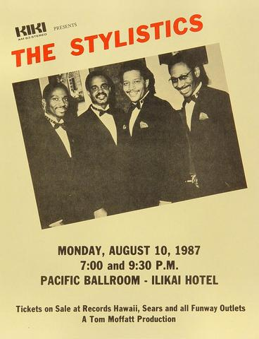 The Stylistics Handbill