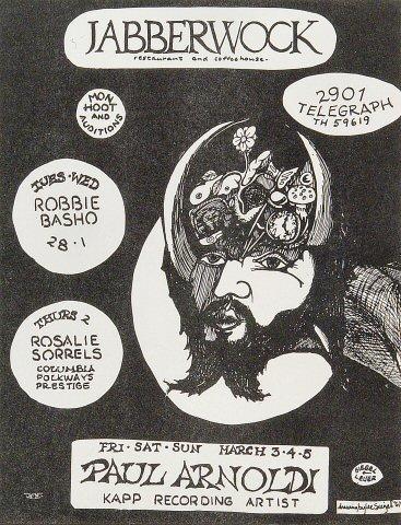 Robbie Basho Handbill
