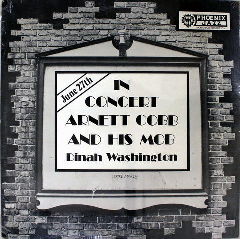"Arnett Cobb & His Mobb Vinyl 12"" (New)"