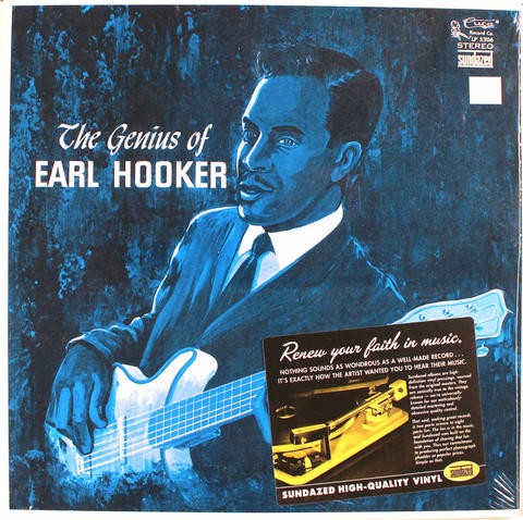 "Earl Hooker Vinyl 12"" (New)"