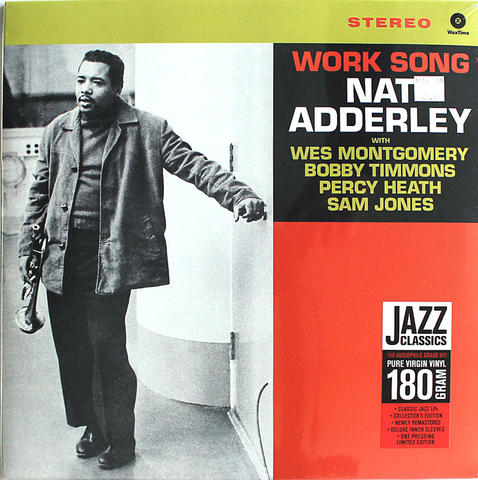 "Nat Adderley Vinyl 12"" (New)"
