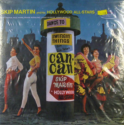 """Skip Martin And His Hollywood All-Stars Vinyl 12"""" (Used)"""