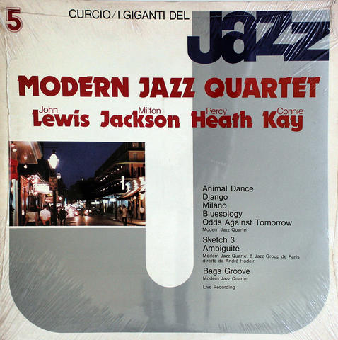 "Modern Jazz Quartet Vinyl 12"" (New)"