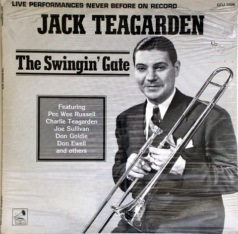 "Jack Teagarden Vinyl 12"" (New)"