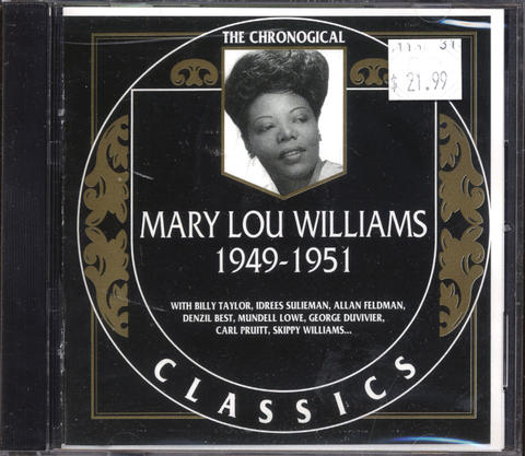 Mary Lou Williams CD