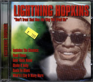Lightnin' Hopkins CD