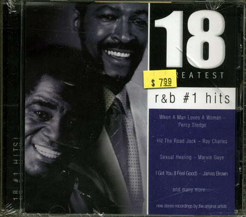 18 Greatest R & B #1 Hits CD