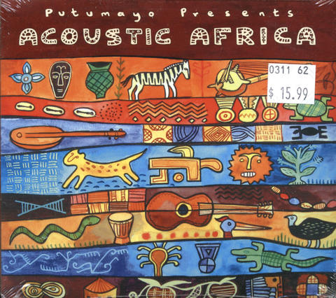 Acoustic Africa CD