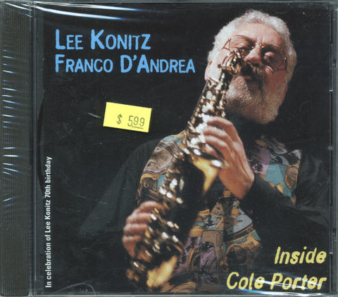 Lee Konitz CD