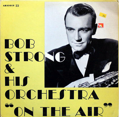"Bob Strong And His Orchestra Vinyl 12"" (Used)"