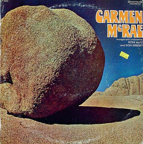 "Carmen McRae Vinyl 12"" (New)"