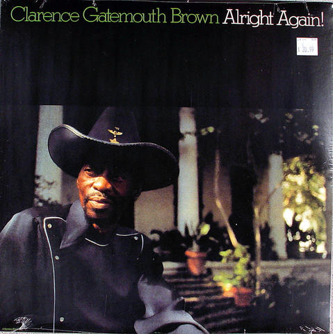 "Clarence ""Gatemouth"" Brown Vinyl 12"" (New)"