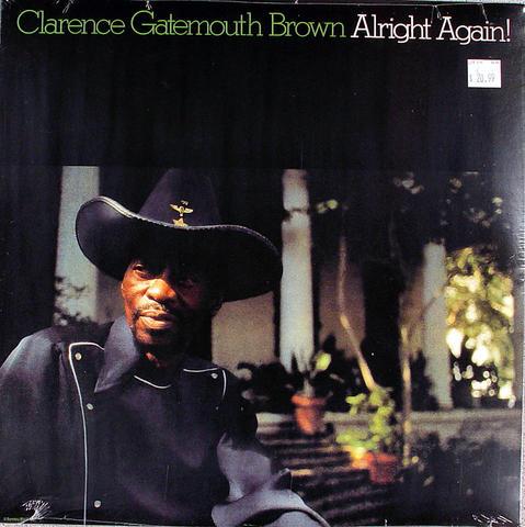 "Clarence ""Gatemouth"" Brown Vinyl 12"" (New)"