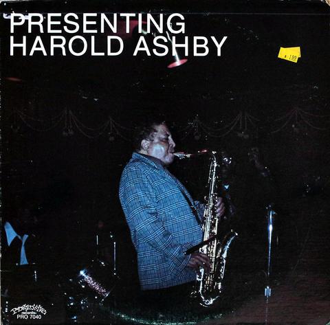 "Harold Ashby Vinyl 12"" (Used)"