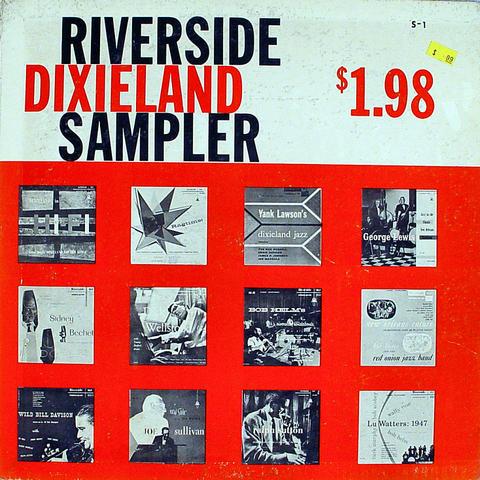 """Riverside Dixieland Sampler Vinyl 12"""" (Used)"""