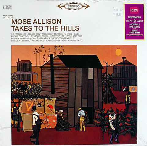 "Mose Allison Vinyl 12"" (New)"