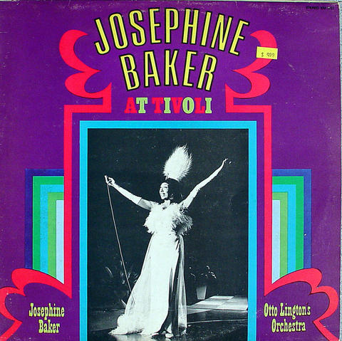 """Josephine Baker Vinyl 12"""" (Used)"""