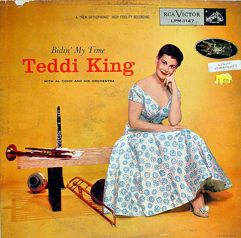 "Teddi King Vinyl 12"" (Used)"