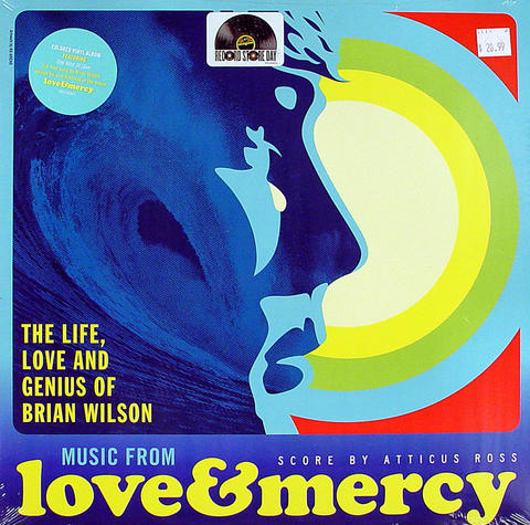 "Music From Love & Mercy Vinyl 12"" (New)"